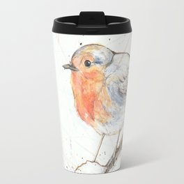 Kleine rote Vögelchen (Little red birdies) Travel Mug