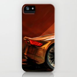 Concept Side View iPhone Case
