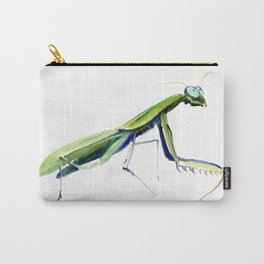 Praying Mantis Carry-All Pouch