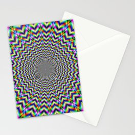 Psychedelic Love Stationery Cards
