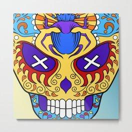 Sugar skull #16 Metal Print