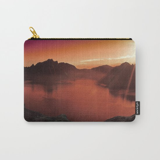 Sunset coucher de soleil Carry-All Pouch