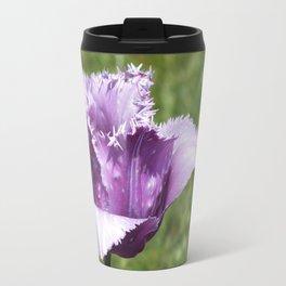 Purple Fringed Tulip Travel Mug