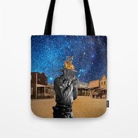 western Tote Bags featuring Western by Cs025
