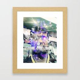 Stage Man Framed Art Print