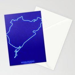 Nurburgring Nordshleife GP Track Germany Stationery Cards