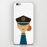 pilot iPhone & iPod Skins featuring Pilot by Page 84 Design