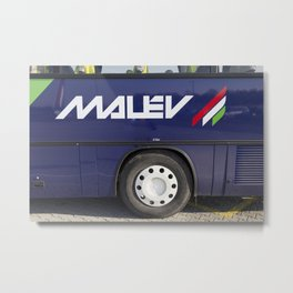 Malev Airlines Metal Print