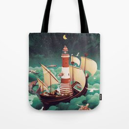 Light of freedom Tote Bag