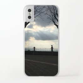 Tree Heaven Clear iPhone Case