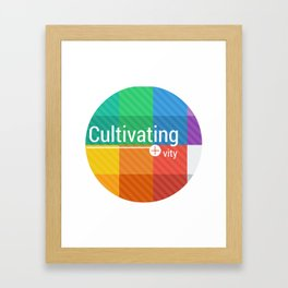 Cultivating+ Framed Art Print