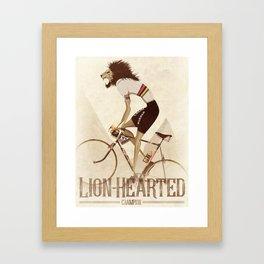 Vintage World Champion Bicycle, Bike, Bikes, Cycling Tour De France Framed Art Print