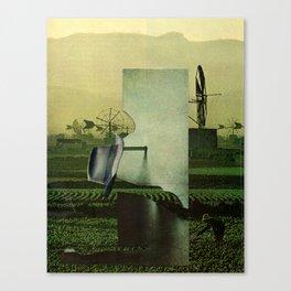 Work machine Canvas Print