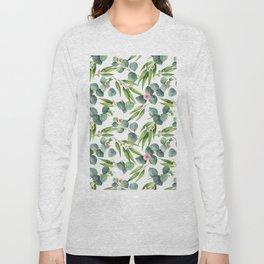 Bamboo and eucaliptus pattern Long Sleeve T-shirt