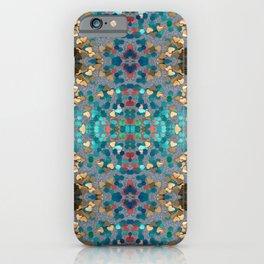 Sequin Mosaic Pattern iPhone Case