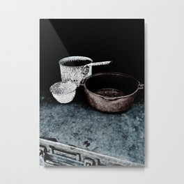 Haunted Cook Stove, Hell's Gate B.C. Metal Print