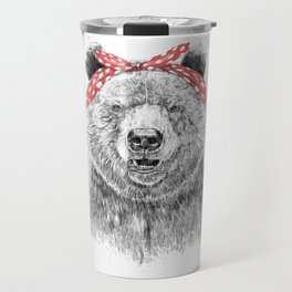 Break the rules (without text) Travel Mug