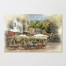 Cafe Veril, Alcala, Tenerife Canvas Print