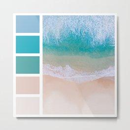 Sea Shades Metal Print