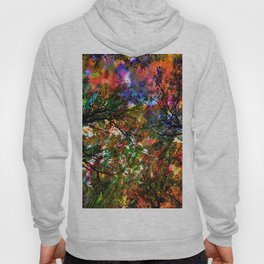 RED magic FOREST Hoody
