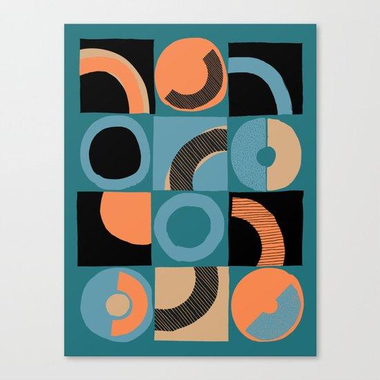 pattern 044 Canvas Print