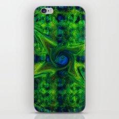 Cosmic Pinwheel iPhone Skin