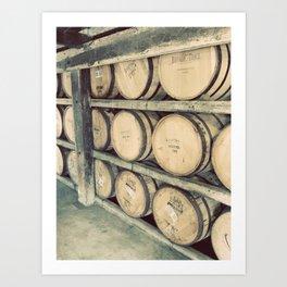 Kentucky Bourbon Barrels Color Photo Art Print