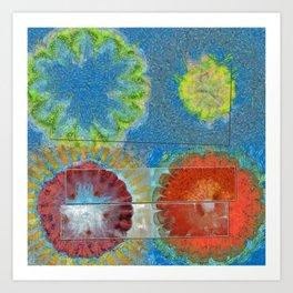 Phallisms Essence Flower  ID:16165-054217-01921 Art Print