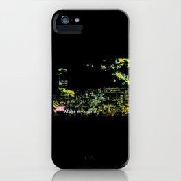INVSBL: make my world iPhone Case
