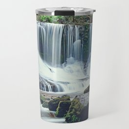 Horseshoe falls Tasmania Travel Mug