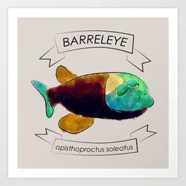 Barreleye Art Print