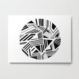Dazzle Metal Print