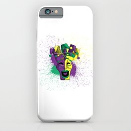 Laughing Mask iPhone Case