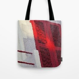 Basque Red in Sunlight Tote Bag