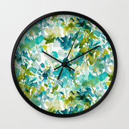 Local Color (Teal) Wall Clock