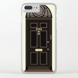 Doors, 221B Clear iPhone Case
