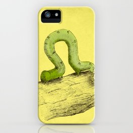 Inchworm iPhone Case