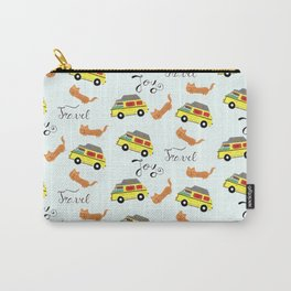 Travel is joy - Pattern Carry-All Pouch