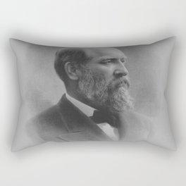 President James Garfield Rectangular Pillow