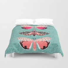 Lepidoptery No. 6 by Andrea Lauren Duvet Cover