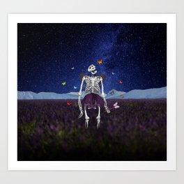 Death Fairy Helper Art Print
