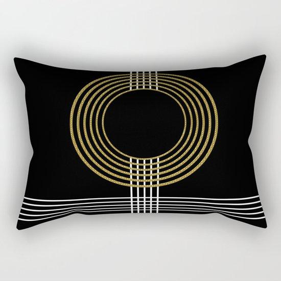 GUITAR IN ABSTRACT (geometric art deco) Rectangular Pillow