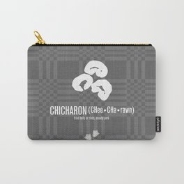 Chicharon (fried pork belly or rinds) Carry-All Pouch