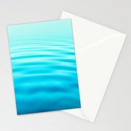 OCEAN ABSTRACT I Stationery Cards