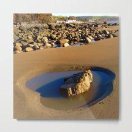 The Rock Pool Metal Print