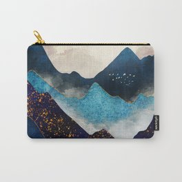 Indigo Peaks Carry-All Pouch