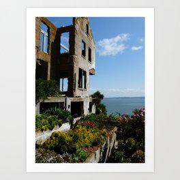 Alcatraz Ruins Art Print