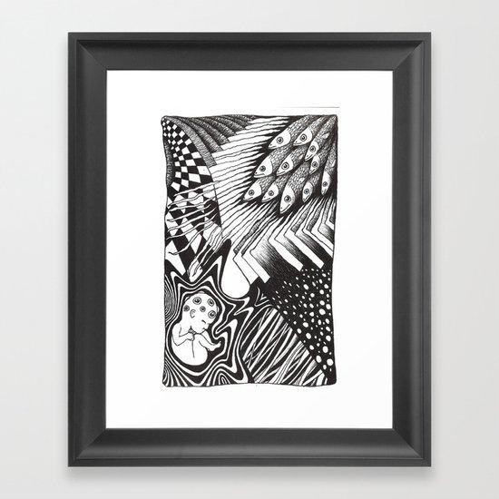 PSYKE2 Framed Art Print