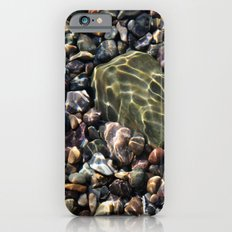 pool of pebbles  iPhone 6s Slim Case