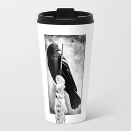 Perch Black Travel Mug